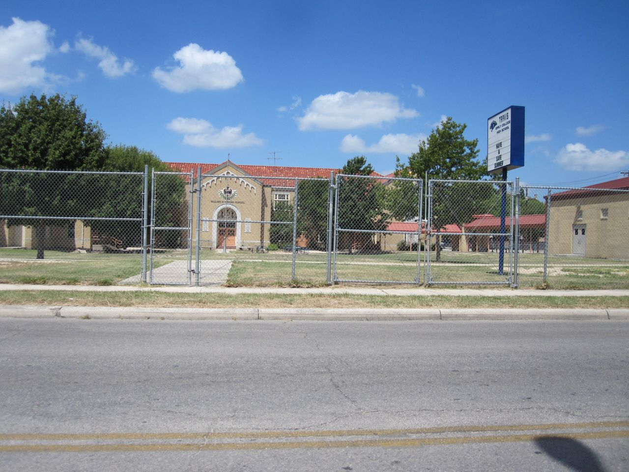 Travis Early College High School a magnet school in San Antonio Independent School District on Main Avenue near Monte Vista and Tobin Hill