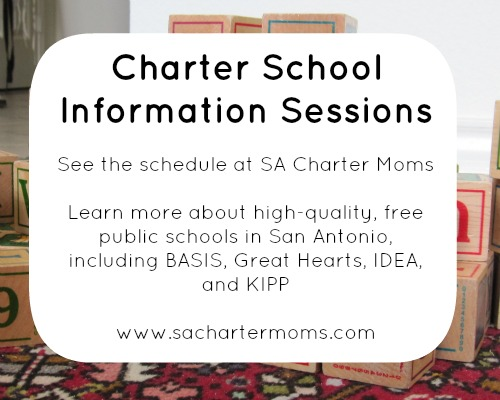 Charter School Information Sessions | San Antonio Charter Moms