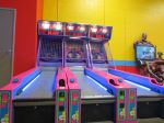 Skeeball at Kiddie Park PicaPica at PicaPica Plaza San Antonio Texas