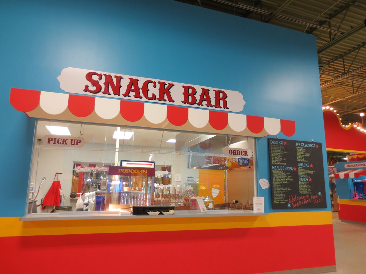 Snack bar at Kiddie Park PicaPica at PicaPica Plaza San Antonio Texas ...