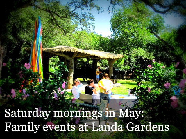 Landa Gardens family events Saturday mornings May 2013 Monte Vista San Antonio Texas library playground
