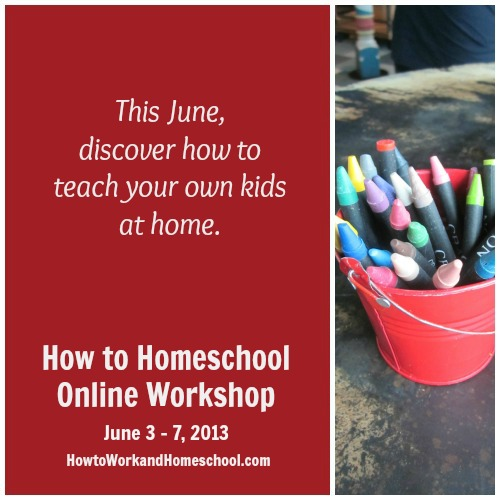 how to homeschool workshop