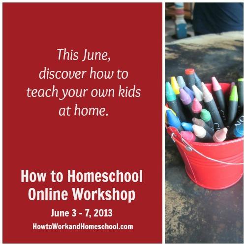 how to homeschool workshop