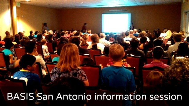 BASIS San Antonio 2014-15 prospective student information session November 21, 2013
