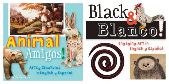 Animal Amigos! Black & Blanco ArteKids bilingual board books Trinity University Press TUPress San Antonio Museum of Art San Antonio Public Library Foundation