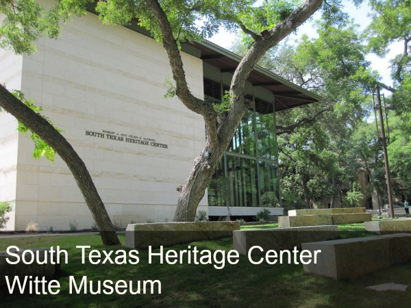 South Texas Heritage Center at the Witte Museum, San Antonio, Texas | San Antonio Charter Moms