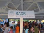 BASIS San Antonio Boosters at movie night at Woodlawn Lake Park | San Antonio Charter Moms