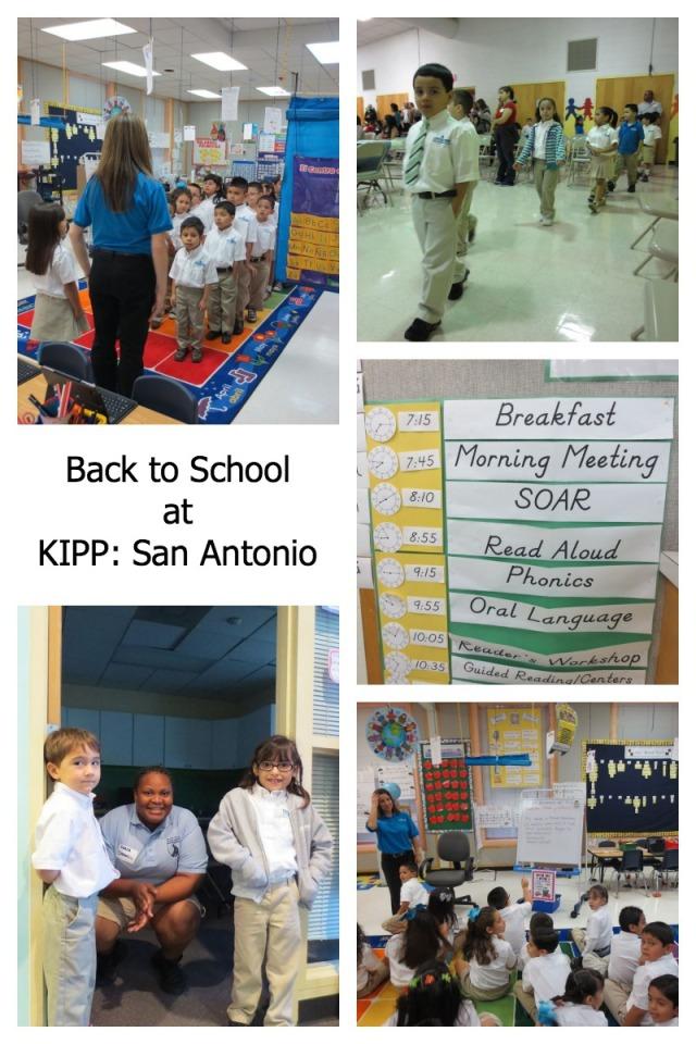 Back to School at KIPP: San Antonio | San Antonio Charter Moms
