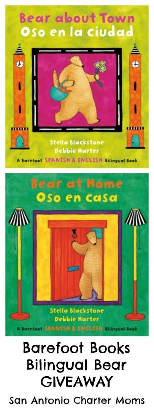 Barefoot Books Bilingual Bear giveaway | San Antonio Charter Moms