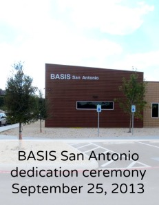 BASIS San Antonio dedication ceremony | San Antonio Charter Moms