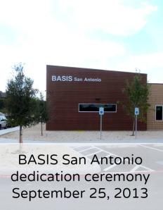 BASIS San Antonio dedication ceremony | San Antonio Charter Moms