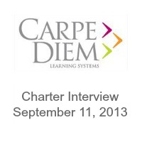 Carpe Diem Learning Systems Texas Charter Interview September 11, 2013 | San Antonio Charter Moms