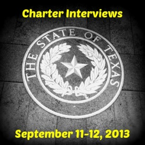 Charter Interviews 2013  Texas Education Agency State Board of Education Austin San Antonio Charter Moms
