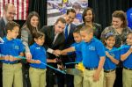 IDEA South Flores ribbon cutting ceremony | credit: Mitch Idol | San Antonio Charter Moms
