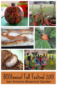 BOOtanica! Fall Festival 2013 at the San Antonio Botanical Garden | San Antonio Charter Moms