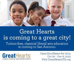 Great Hearts Texas enrollment begins October 30 | San Antonio Charter Moms