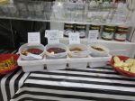 food samples at Holiday Ole Market 2013 - Junior League of San Antonio   San Antonio Charter Moms