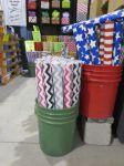 Under Wraps chevron gift wrap at Holiday Ole Market 2013 - Junior League of San Antonio   San Antonio Charter Moms