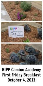 First Friday Breakfast at KIPP Camino on October 4, 2013 | San Antonio Charter Moms