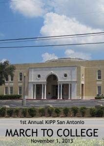 1st Annual KIPP San Antonio March to College on November 1, 2013 | San Antonio Charter Moms