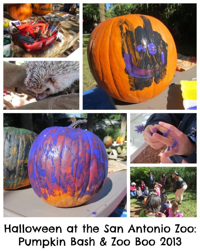 Halloween at the San Antonio Zoo: Pumpkin Bash and Zoo Boo 2013 | San Antonio Charter Moms