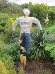 Timmy at Scarecrow Trail at San Antonio Botanical Garden | San Antonio Charter Moms
