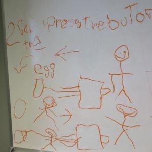 Homeschooling and work: whiteboard   San Antonio Charter Moms