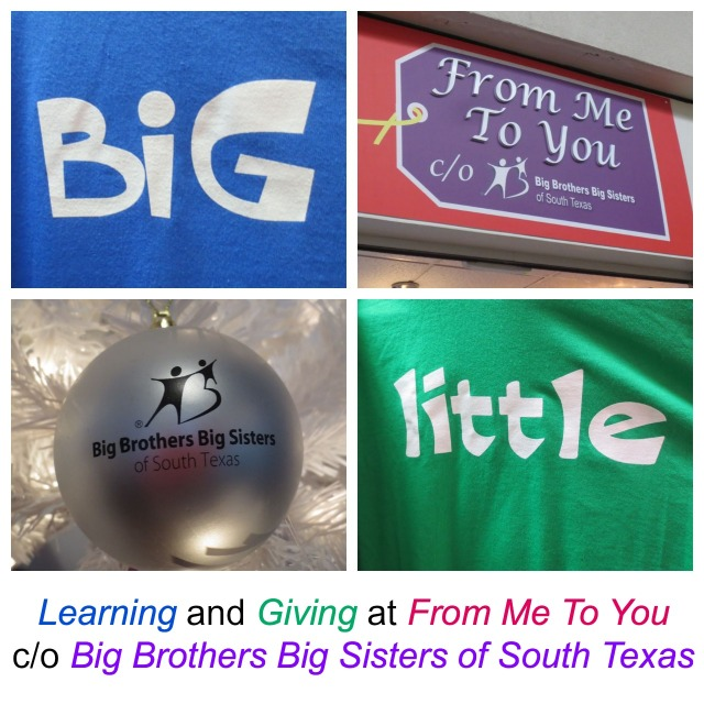 Learning and Giving at From Me To You c/o Big Brothers Big Sisters of South Texas | San Antonio Charter Moms