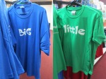 Big and Little shirts at From Me To You c/o Big Brothers Big Sisters of South Texas | San Antonio Charter Moms