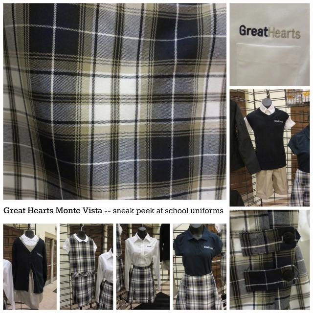 Great Hearts Monte Vista sneak peek at school uniforms for 2014 | San Antonio Charter Moms