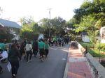 KIPP San Antonio March to College 2013 seniors walk to the post office   San Antonio Charter Moms
