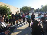 KIPP San Antonio March to College 2013 seniors line up at the mailbox   San Antonio Charter Moms