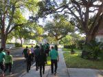 KIPP San Antonio March to College 2013 seniors walk back to school   San Antonio Charter Moms