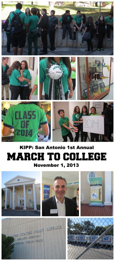 KIPP San Antonio 1st Annual March to College November 1, 2013   San Antonio Charter Moms