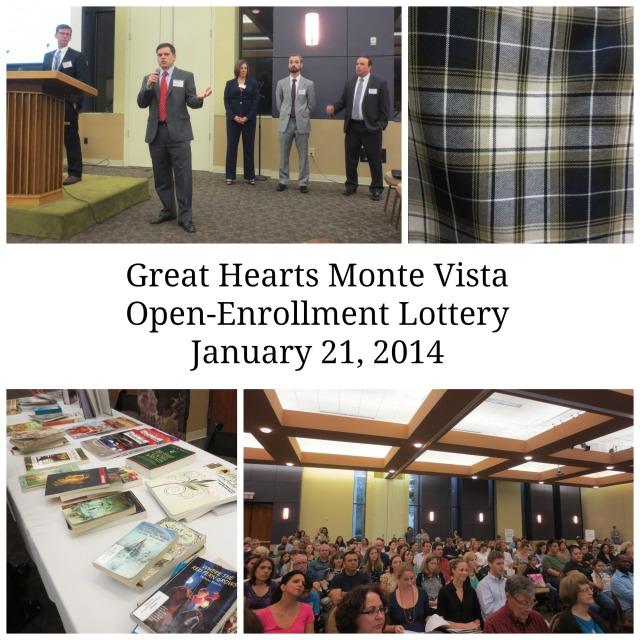 Great Hearts Monte Vista Open-Enrollment Lottery January 21, 2014 | San Antonio Charter Moms