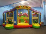Maze at Inflatable Wonderland | San Antonio Charter Moms