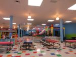 Party zone at Inflatable Wonderland | San Antonio Charter Moms