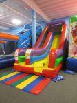Slide at Inflatable Wonderland | San Antonio Charter Moms