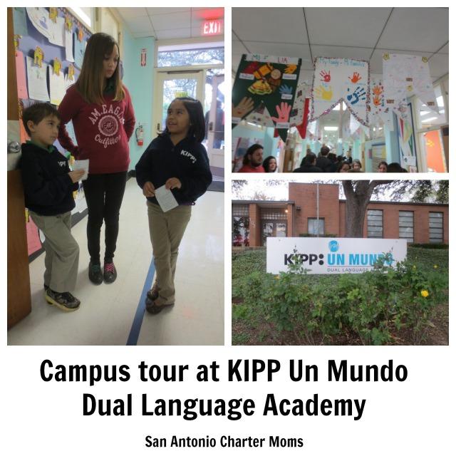 Campus tour at KIPP Un Mundo Dual Language Academy | San Antonio Charter Moms