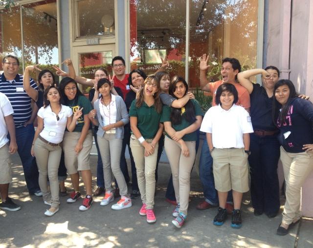 Big Brothers Big Sisters of South Texas: InspireU with Bonham Academy students at SWEB Apps | San Antonio Charter Moms