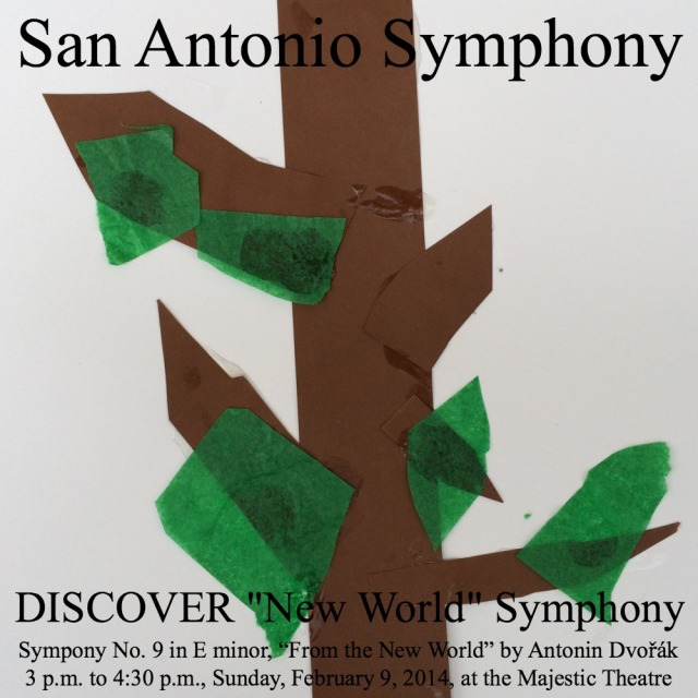 """Giveaway: Four pack of tickets to DISCOVER """"New World"""" Symphony with the San Antonio Symphony 