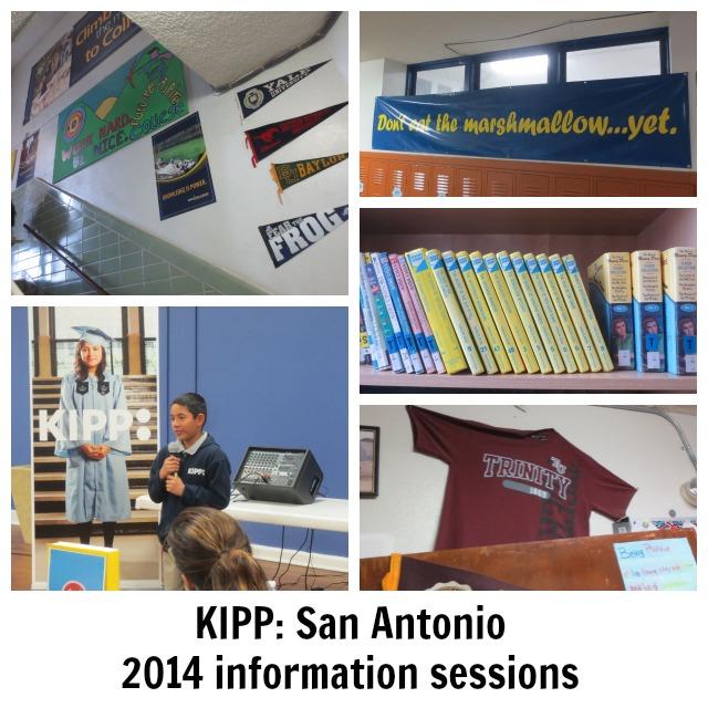 KIPP: San Antonio 2014 information sessions | San Antonio Charter Moms