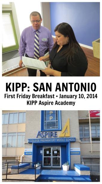 KIPP San Antonio First Friday Breakfast, January 10, 2014 at KIPP Aspire | San Antonio Charter Moms