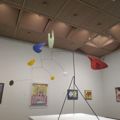 Alexander Calder mobile at the McNay Art Museum | San Antonio Charter Moms