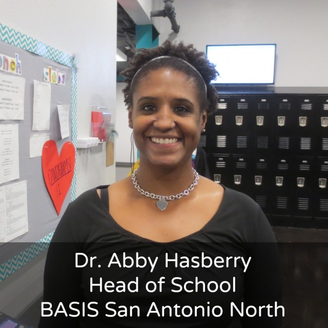Abby Hasberry, Head of School, BASIS San Antonio North | San Antonio Charter Moms