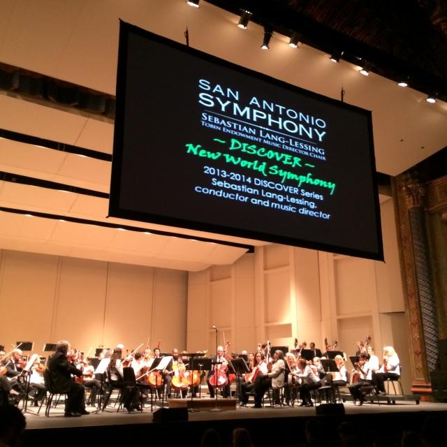 "F.T. reviews DISCOVER ""New World"" Symphony | San Antonio Charter Moms"