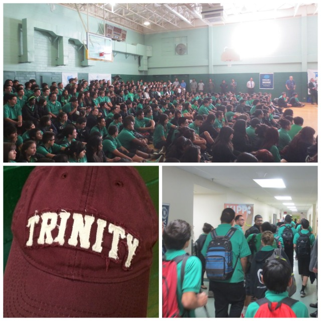 KIPP University Prep assembly with Senator John Cornyn | San Antonio Charter Moms