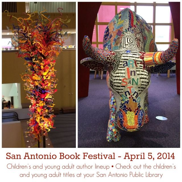 San Antonio Book Festival 2014 lineup of children's and young adult book authors | San Antonio Charter Moms