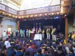 Students ring the bell at the National School Choice Week San Antonio Whistle Stop | San Antonio Charter Moms