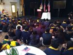 Private school and charter school students at the National School Choice Week San Antonio Whistle Stop | San Antonio Charter Moms